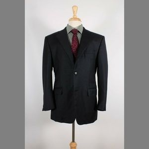 Burberry 40S Dark Gray Sport Coat B201